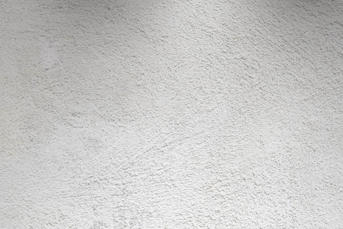 Reboco liso pintados a tinta de areia cor branca e cinza