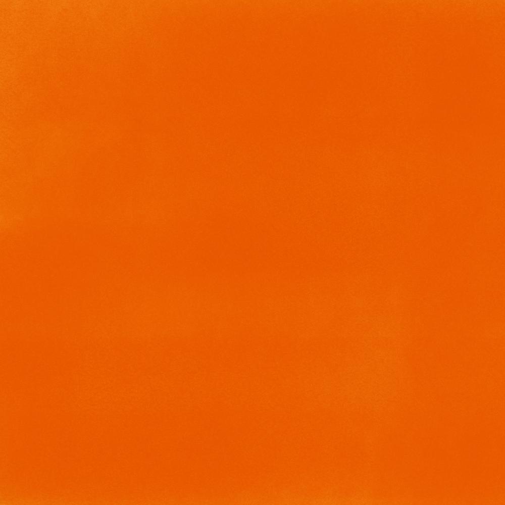 Alvenaria de tijolo rebocada, pintada a tinta cor de laranja